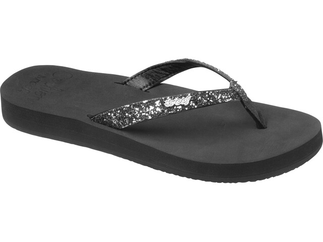 Reef Star Cushion Flip-flopit Naiset, black/gunmetal